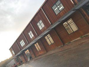 corten building