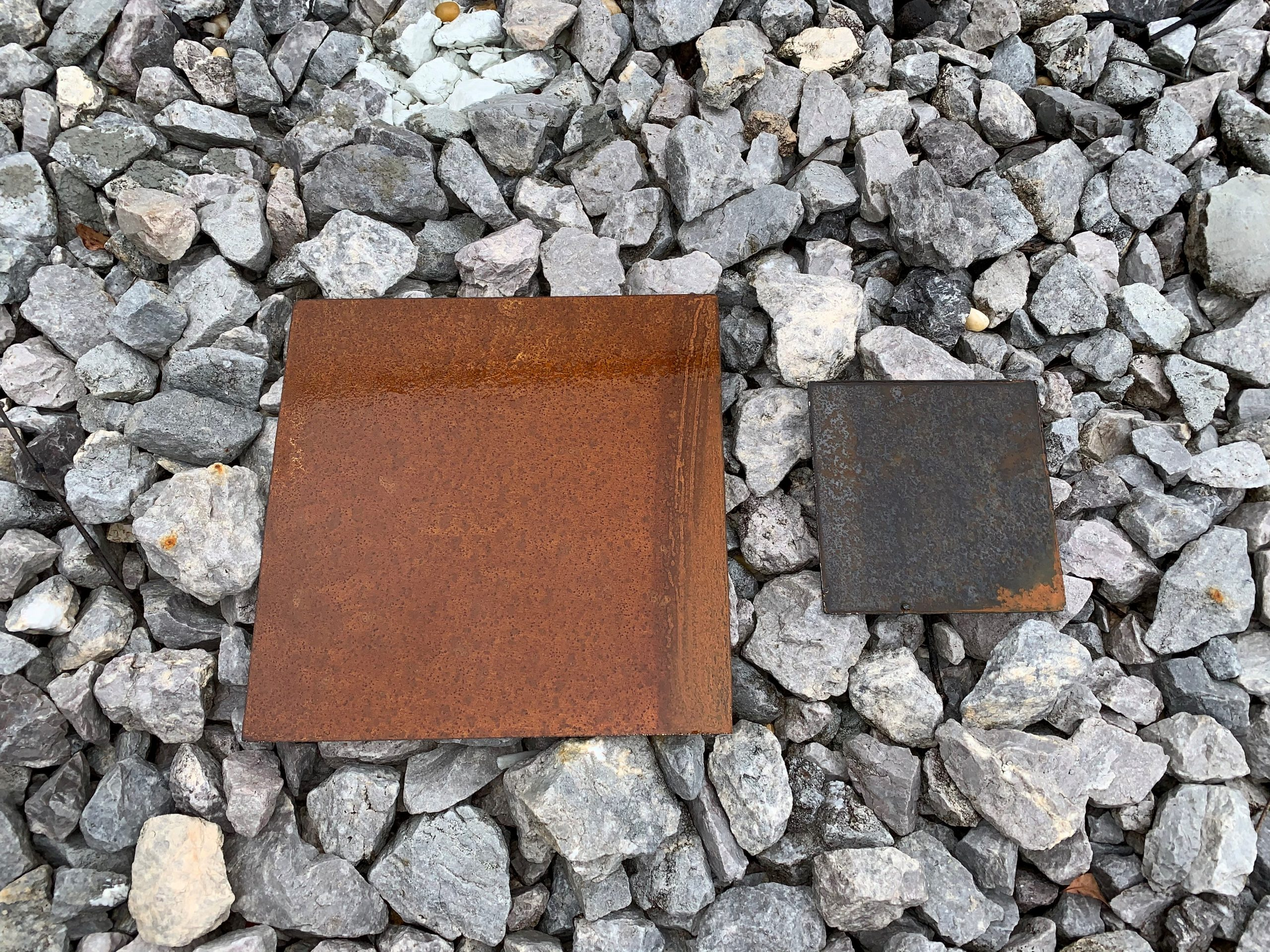 Weathering Steel Patina