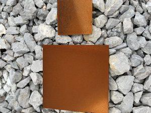 Corten steel square