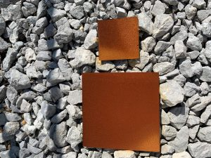 Weathering Steel sample