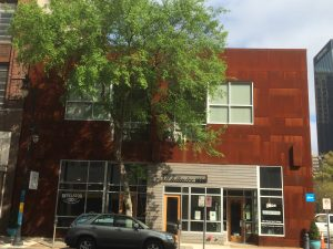 Corten Building Facade