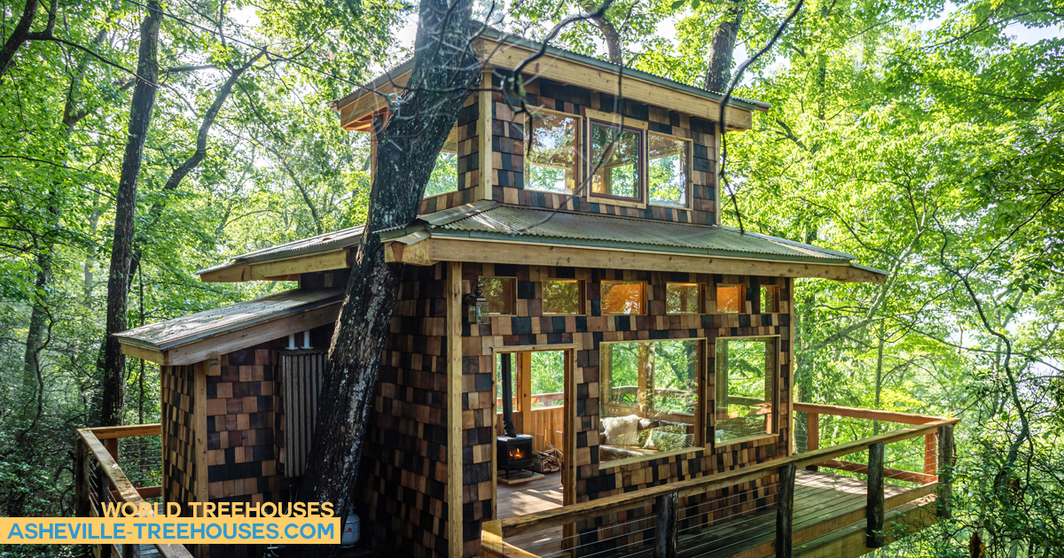Weathering steel for World Treehouses