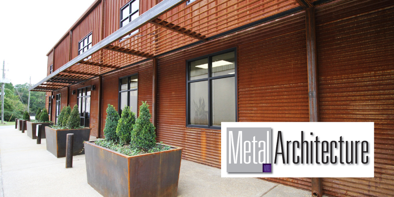 Central Steel Featured in Metal Architecture
