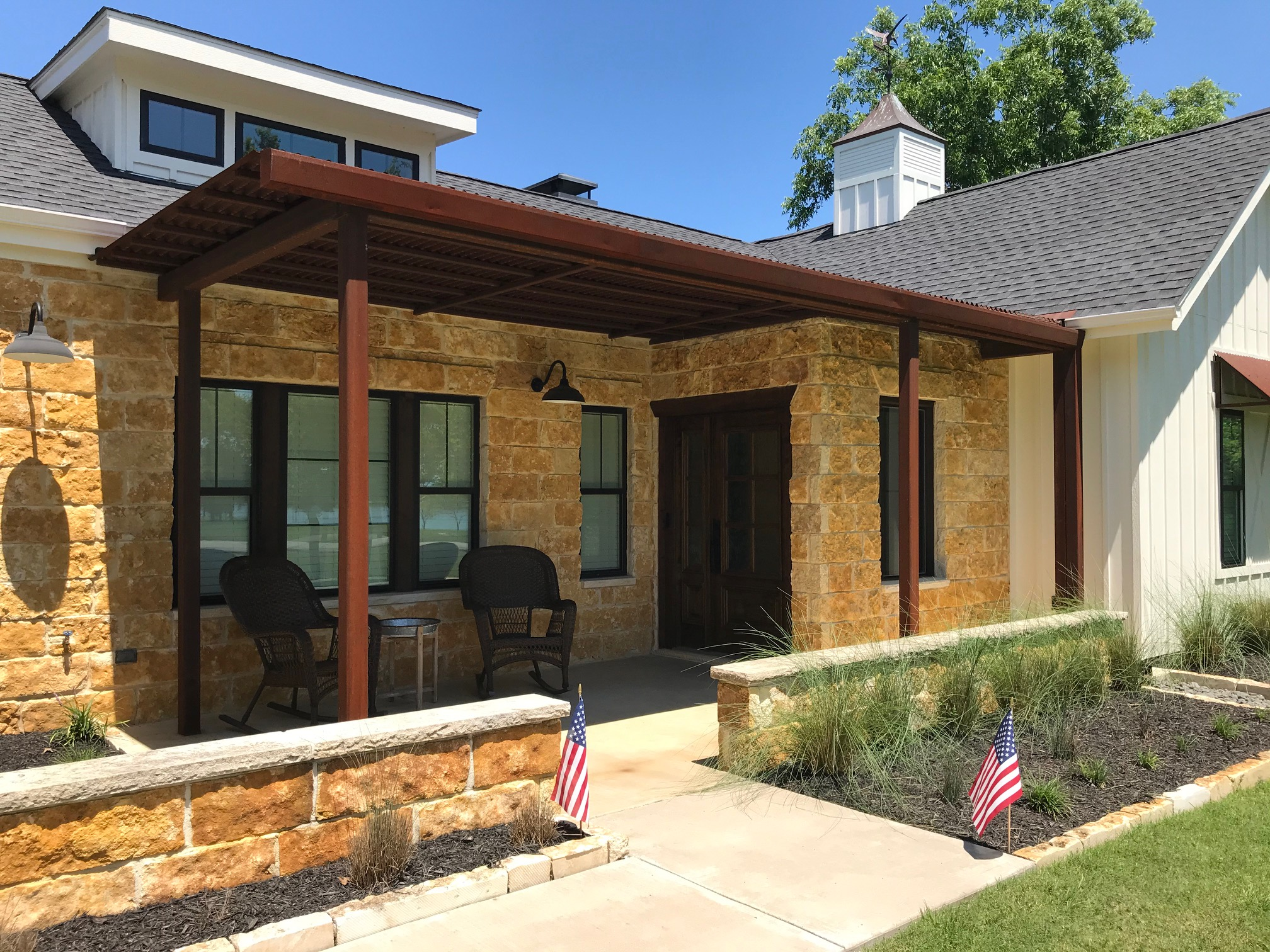 Weathering Steel in Residential Projects